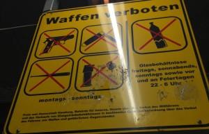 Waffenverboten