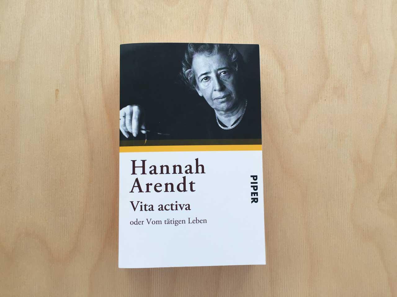 Hannah Arendt Vita activa